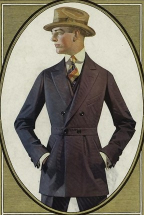 Means Day Wear Suit 1910