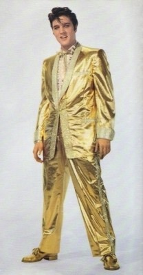 Gold Lame Suit for Men