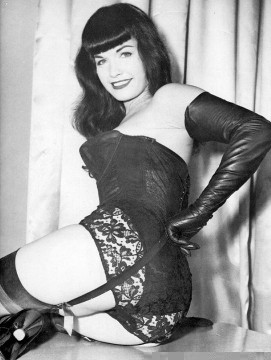 Pin Up Glamour Girl - Bettie Page