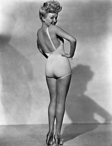 Glamour Girl 1940s - Betty Grable