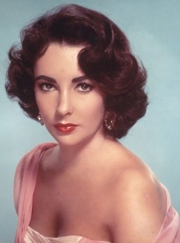 Glamour Photography of the 1950s - Liz Taylor