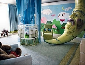 Suri Cruise Bedroom